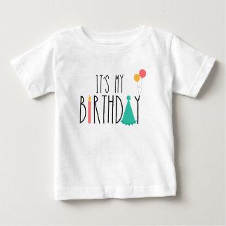 It's My Birthday Baby Kids Tee