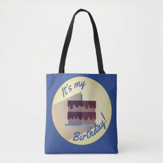 It's My Birthday Chocolate Cake Bag by Aleta
