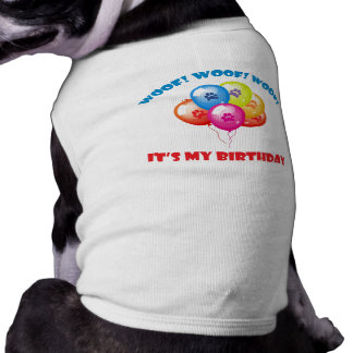 It's My Birthday Dog Tee