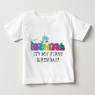 It's My First Birthday baby t-shirt