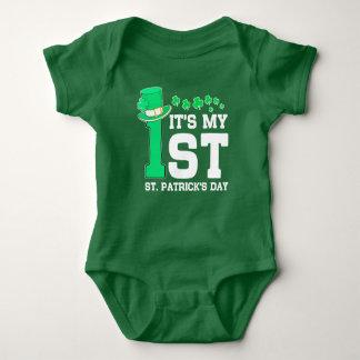 It's My First St. Patrick's Day Baby Bodysuit