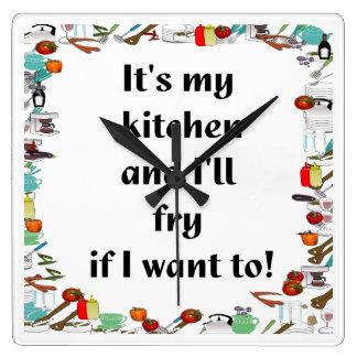 It's my Kitchen.... Wallclock