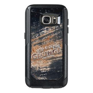 It's My Style GRUNGE Rusty Letters OtterBox Samsung Galaxy S7 Case