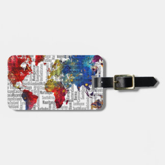 It's my world luggage tag