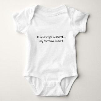 Its no longer a secret.....  my formula is out ! baby bodysuit