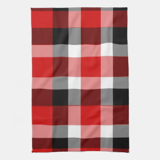It's Not a Picnic Until It Rain Plaid Dishtowel Kitchen Towel