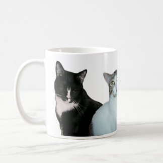 It's not always black and white. coffee mug