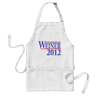 It's Not Too Hard To Vote Weiner 2012 Standard Apron