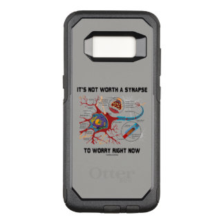 It's Not Worth A Synapse To Worry Right Now Humor OtterBox Commuter Samsung Galaxy S8 Case