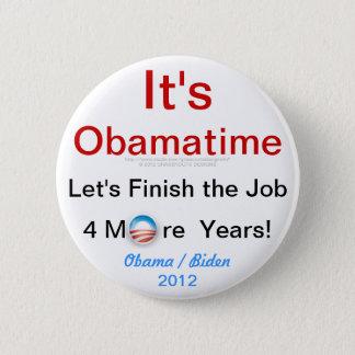 It's Obamatime 2 Inch Round Button