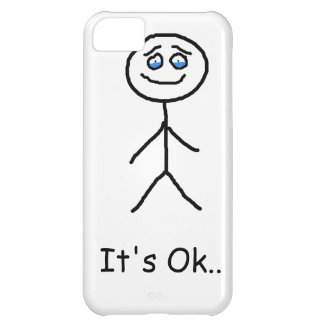 It's ok with tears cover for iPhone 5C