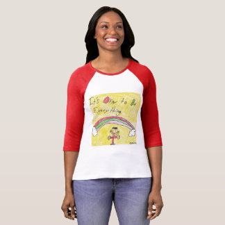It's Okay to Be Everything T-shirt in Long Sleeve