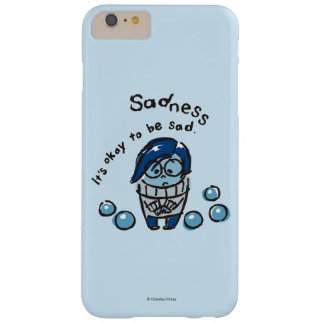 It's Okay To Be Sad Barely There iPhone 6 Plus Case