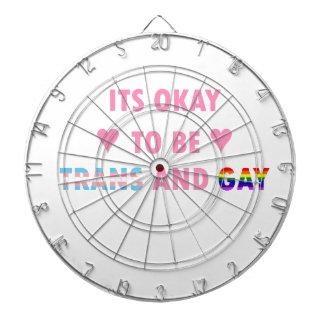 It's Okay To Be Trans And Gay (v1) Dartboard