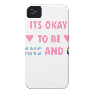 It's Okay To Be Trans And Gay (v1) iPhone 4 Covers