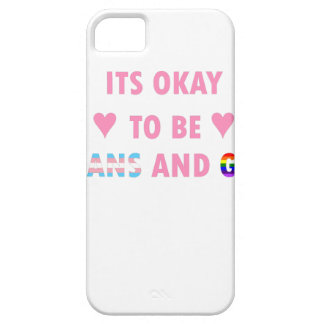 It's Okay To Be Trans And Gay (v1) iPhone 5 Case