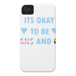 It's Okay To Be Trans And Gay (v2) Case-Mate iPhone 4 Case