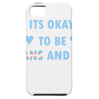 It's Okay To Be Trans And Gay (v3) iPhone 5 Cases