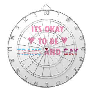 It's Okay To Be Trans And Gay (v4) Dartboard