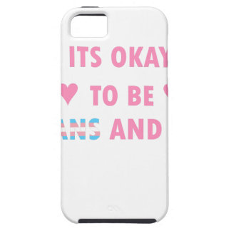 It's Okay To Be Trans And Gay (v4) iPhone 5 Cover