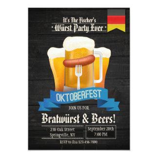 It's Oktoberfest Time Invitation
