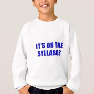 Its On the Syllabus Sweatshirt