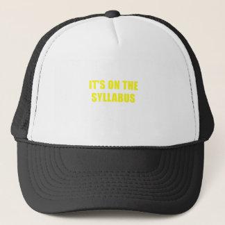 Its On the Syllabus Trucker Hat