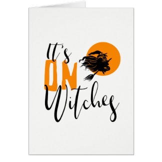 It's On Witches ID442 Card