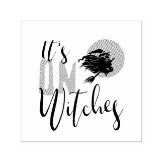 It's On Witches ID442 Self-inking Stamp