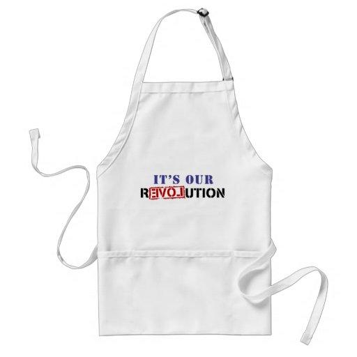 It's Our rEVOLution Apron