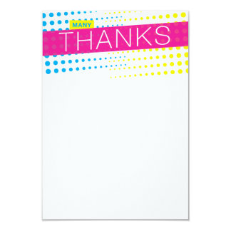 It's Party Time Thank You Note Card