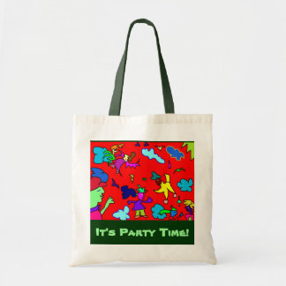 """It's party time!"" - Tree wanting bag"