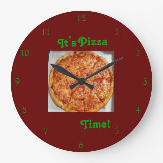 It's Pizza Time! Clock