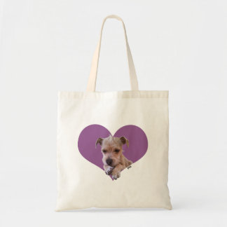It's Puppy Love!! Tote Bag (Photograph)