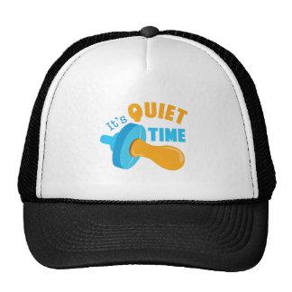 It's Quiet Time Trucker Hat