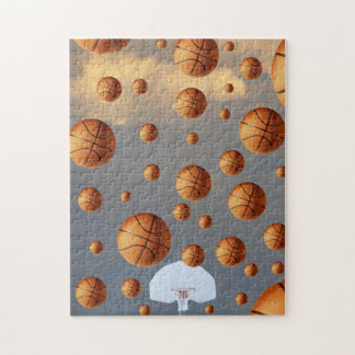 """ I'ts Raining B- Balls "" . Jigsaw Puzzle"