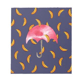 It's Raining Bananas Notepads