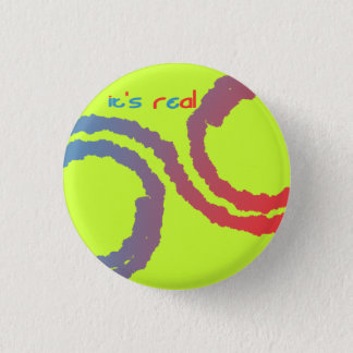 it's real 1 inch round button