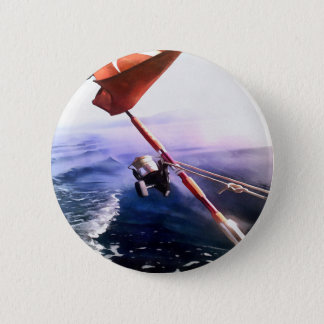 It's Reel - Gone Fishing 2 Inch Round Button