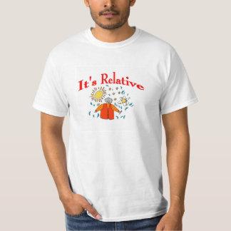 It's Relative, Math Space T-Shirt