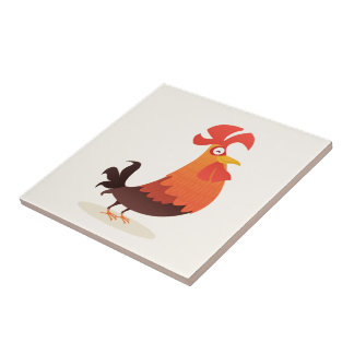 It's Rooster's Time! Tiles