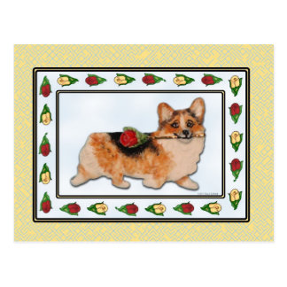 It's Rosie - Tri-color Corgi Postcard