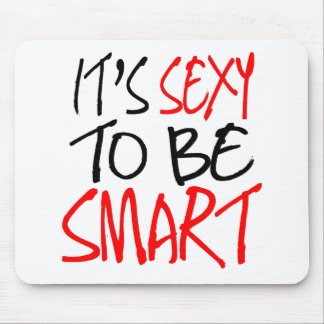 it's sexy to be smart mouse pad
