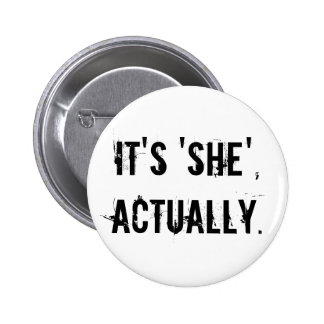 Its she actually 2 inch round button