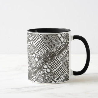 It's Showtime Pattern Mug