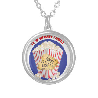 Its Showtime Silver Plated Necklace