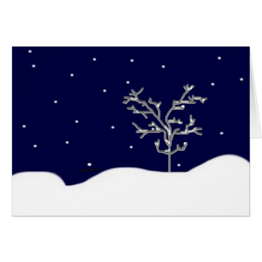 It's Snowing... Card