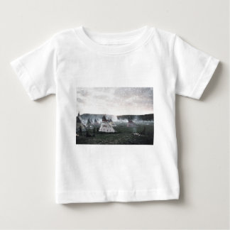 It's snowing on the camp baby T-Shirt