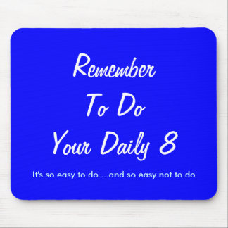 It's so easy to do.... mouse pad