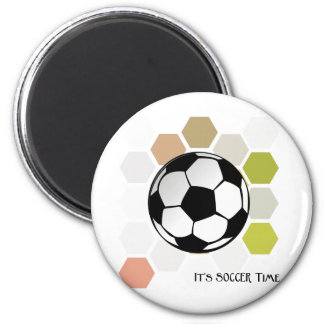 It's Soccer Time Magnet